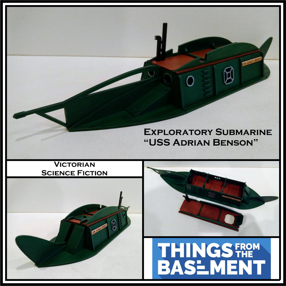 A submarine by Things From the Basement