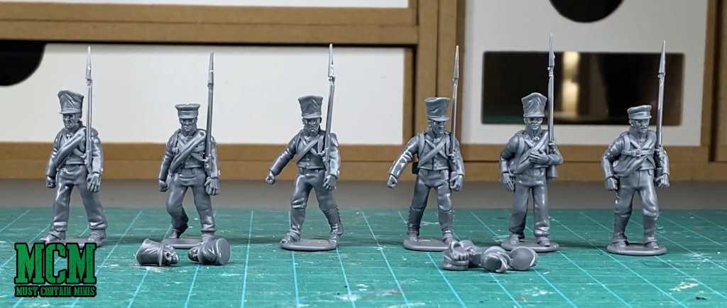 28mm quick build Napoleonic Miniatures