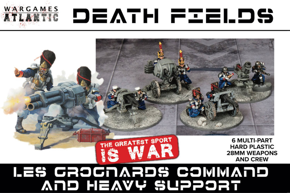 Wargames Atlantic Heavy Weapons Teams to proxy as imperial Guard
