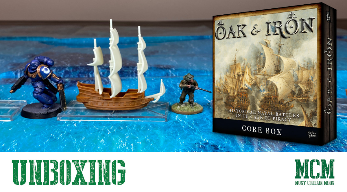 What is in the Oak & Iron Core Box Set?
