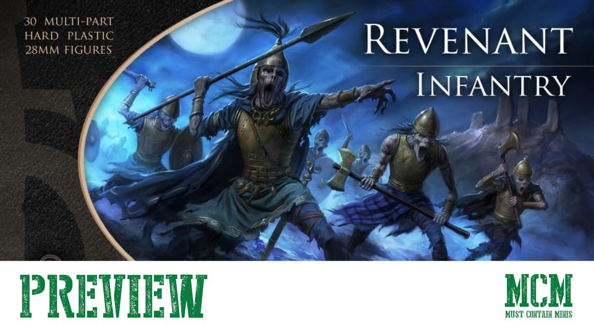 Revenant Infantry Preview for Oathmark