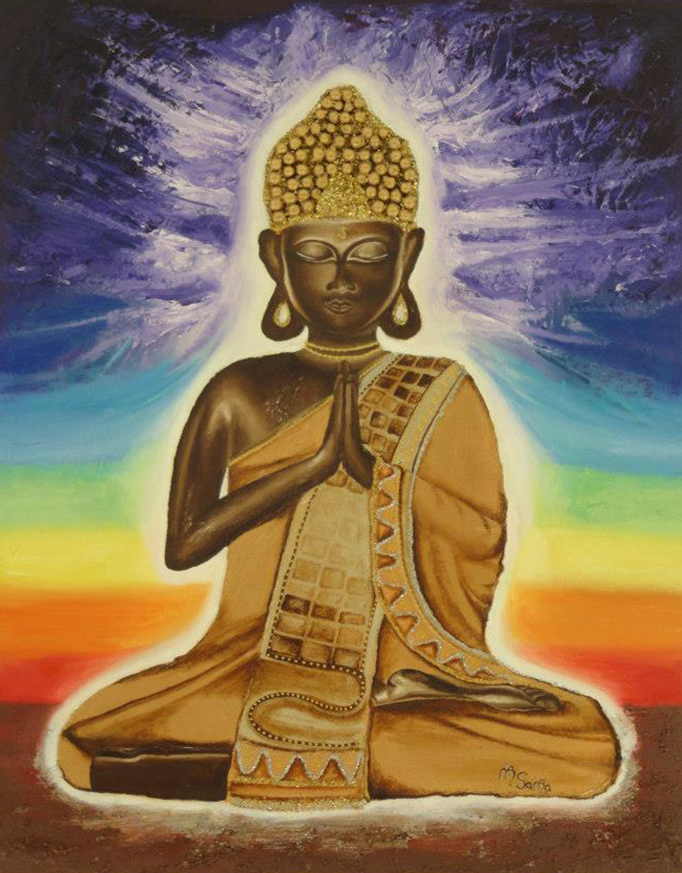 L'art de bien vivre, maître bouddha