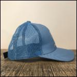 Casquette Bleu Pâle Ponytail