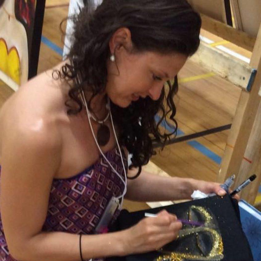 peinture sur vêtements