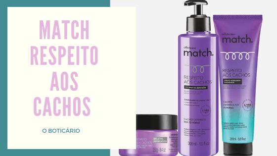 MATCH RESPEITO AOS CACHOS