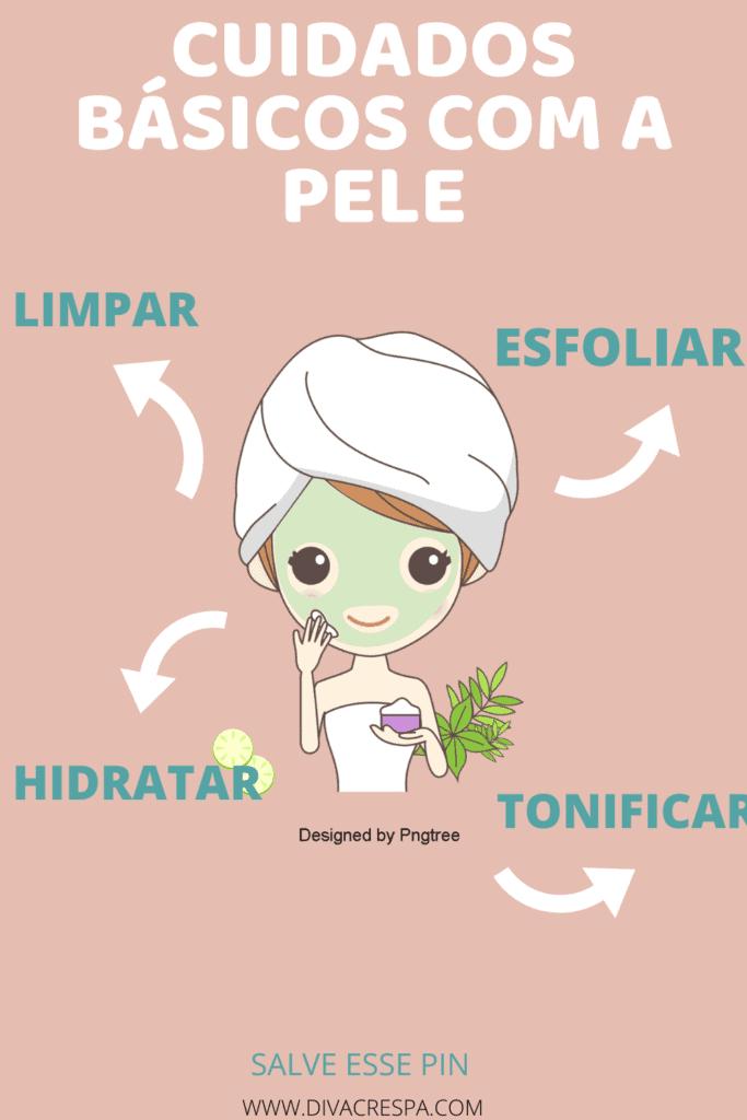 Cuidados básicos com a pele