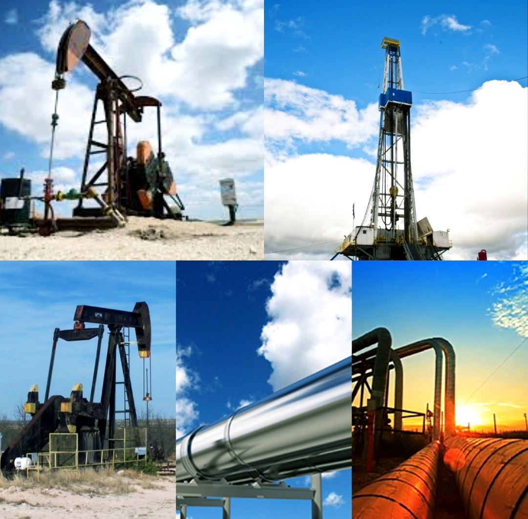 Oil Industry Collage Photo