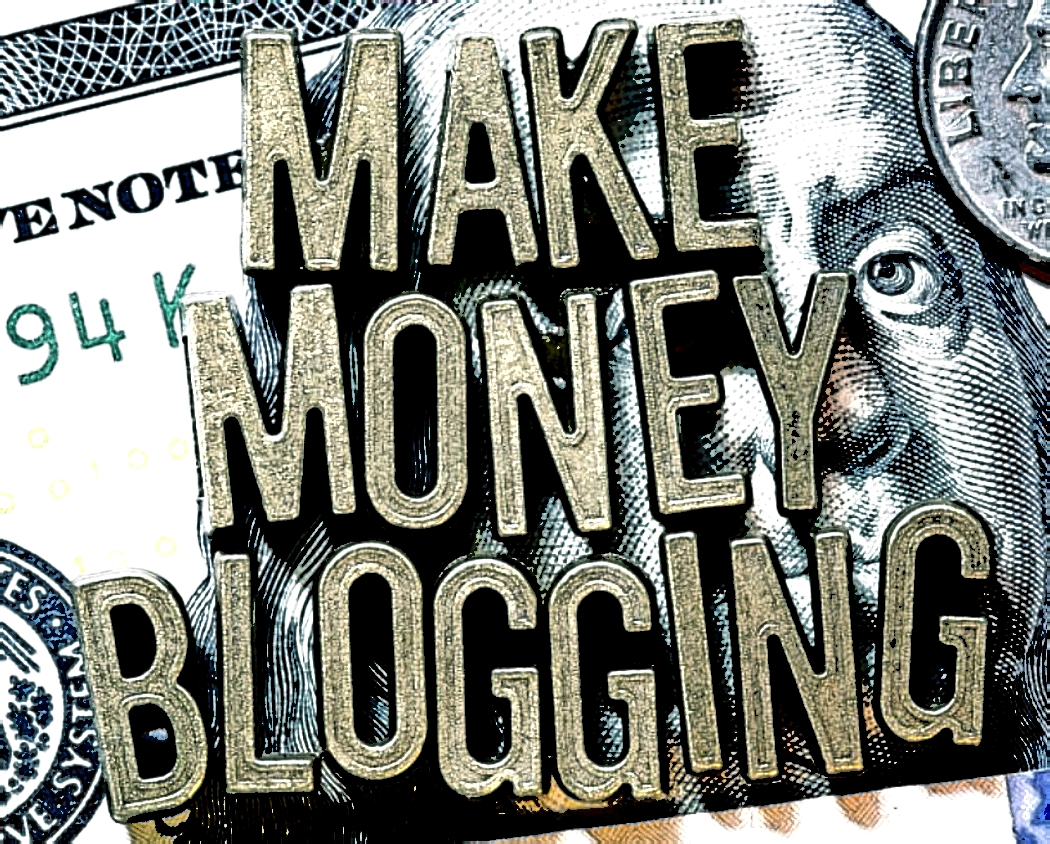 Masters of Money LLC Make Money Blogging Graphic