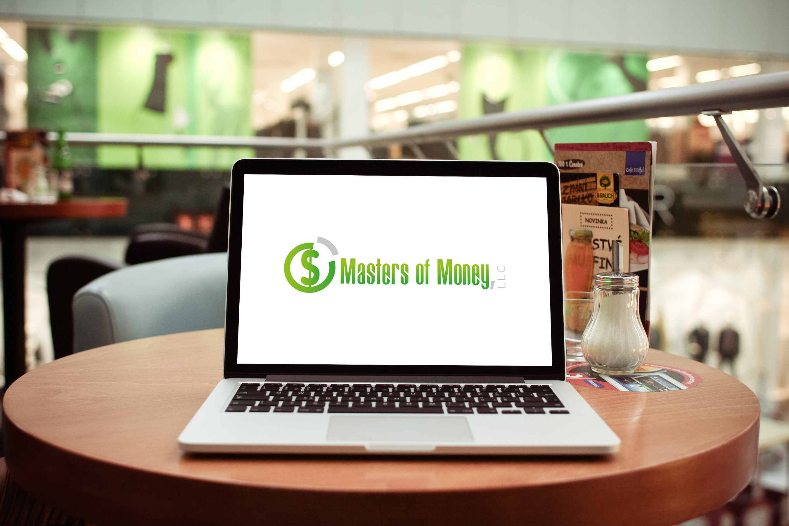 Masters of Money LLC Logo Laptop Screensaver Photo
