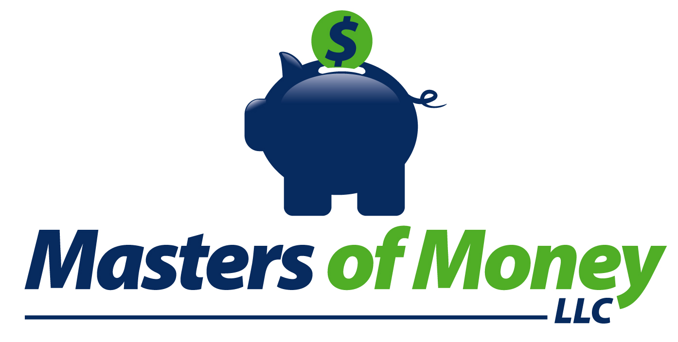 Masters of Money LLC Piggy Bank Logo