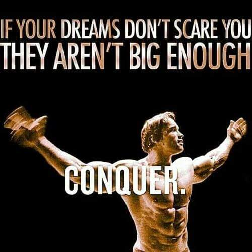 Masters of Money LLC Arnold Schwarzenegger Your Dreams Should Quote Picture