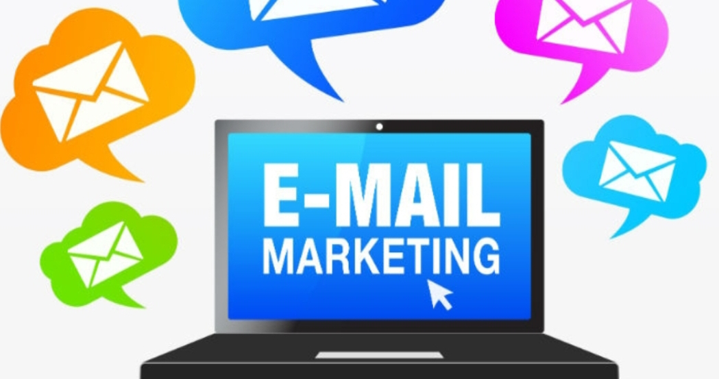 Masters of Money LLC Email Marketing Laptop Graphic