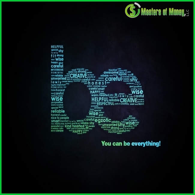 Masters of Money LLC Be Quote Picture
