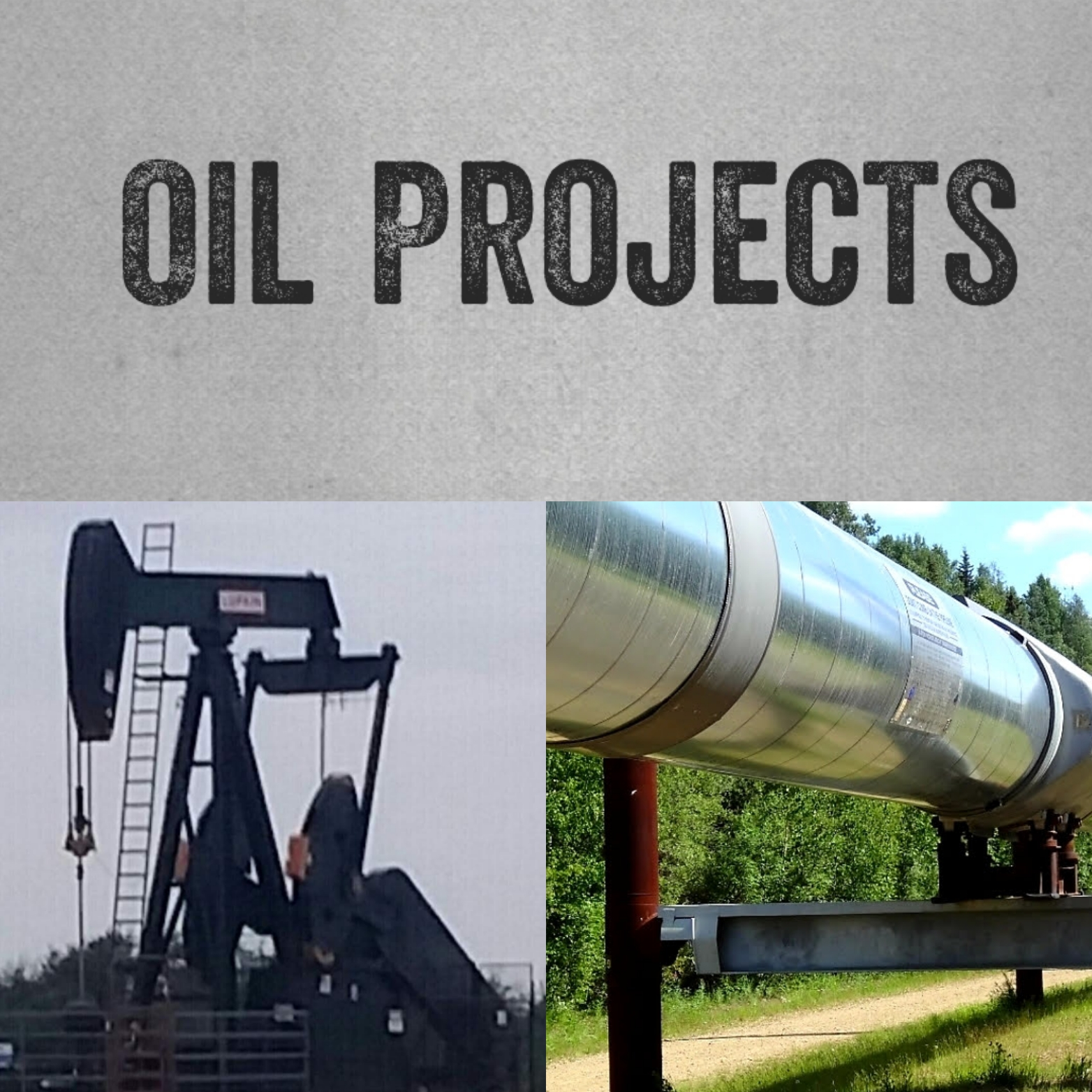 Oil Projects Collage