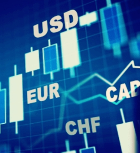 FOREX Currency Trading Chart Graphic