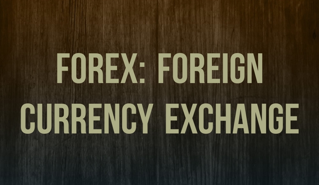 FOREX Foreign Currency Exchange Graphic