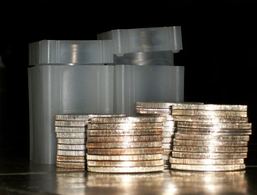 Bullion Coin Stack - Wealth Building