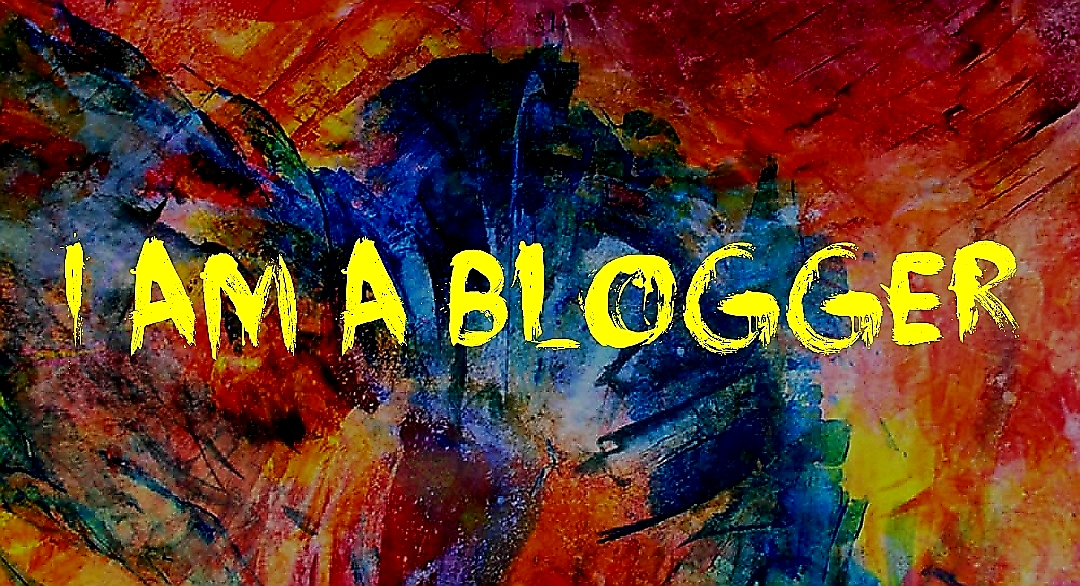 I AM A BLOGGER ARTWORK GRAPHIC