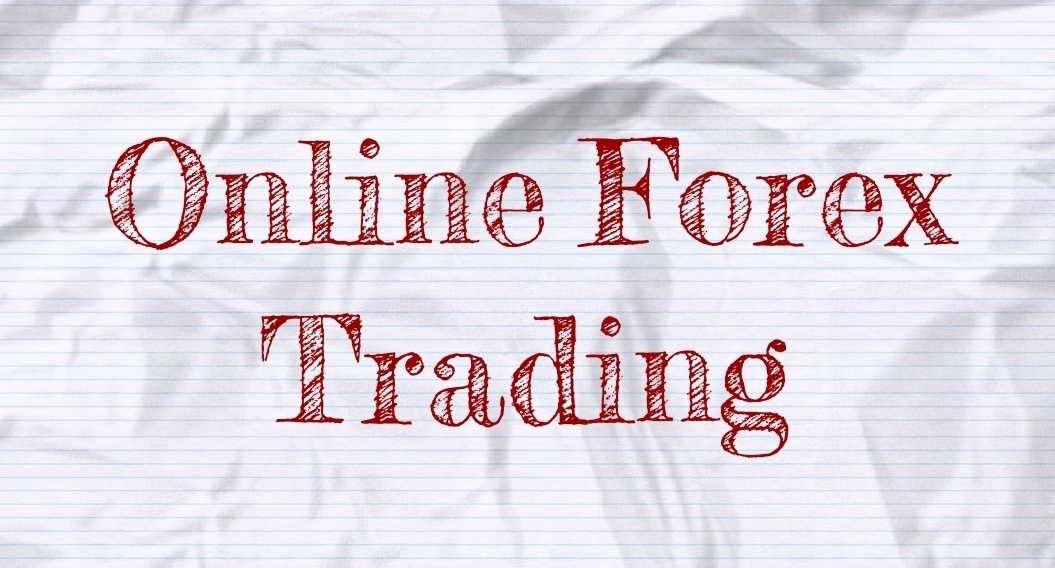 Online Forex Trading On Paper Graphic