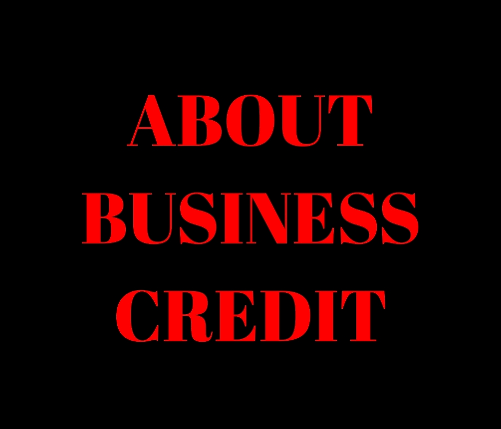 ABOUT BUSINESS CREDIT GRAPHIC