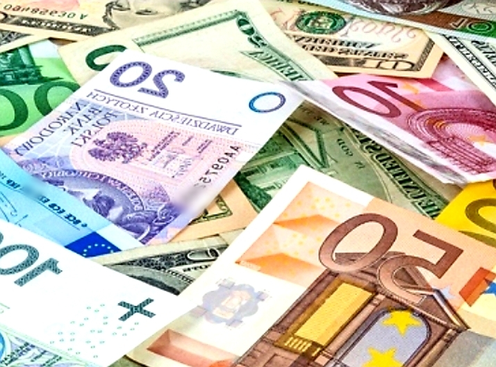 Foreign Currencies FOREX Graphic