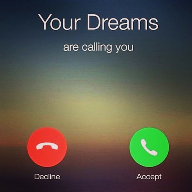 Your Dreams Are Calling - Masters of Money LLC Graphic