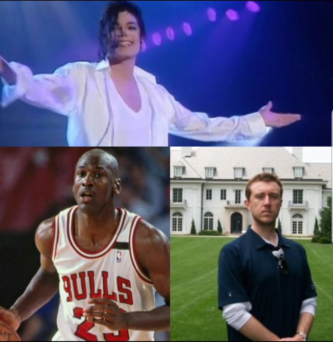 Michael Jackson, Michael Jordan & Michael Johnson - The 3 MJ The Terrible's