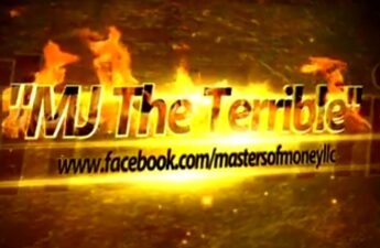 MJ The Terrible Set The World On Fire Facebook Page Graphic