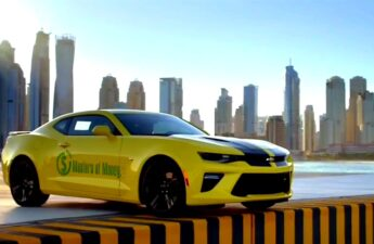Masters of Money LLC YouTube Channel Bumble Bee Transformer Camaro Quarter Mile Promotional Video Photo
