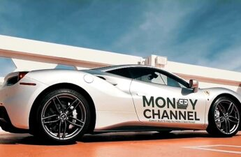 Money Channel Make The World Promotional Video Ferrari Photo