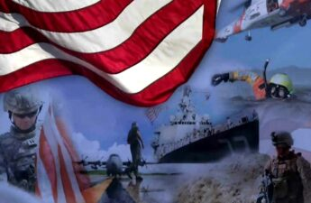 United States Armed Forces Video Post Graphic