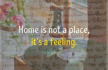 "Masters of Money LLC Home Is Not a Place, It's a Feeling."" Picture Quote"