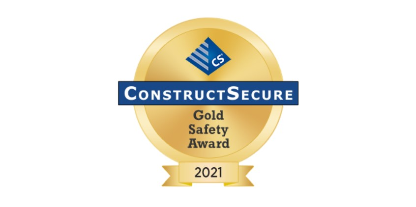 Gold Safety Award 2nd Year Straight!