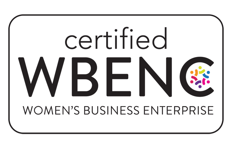 Certified by Women's Business National Council (WBENC)