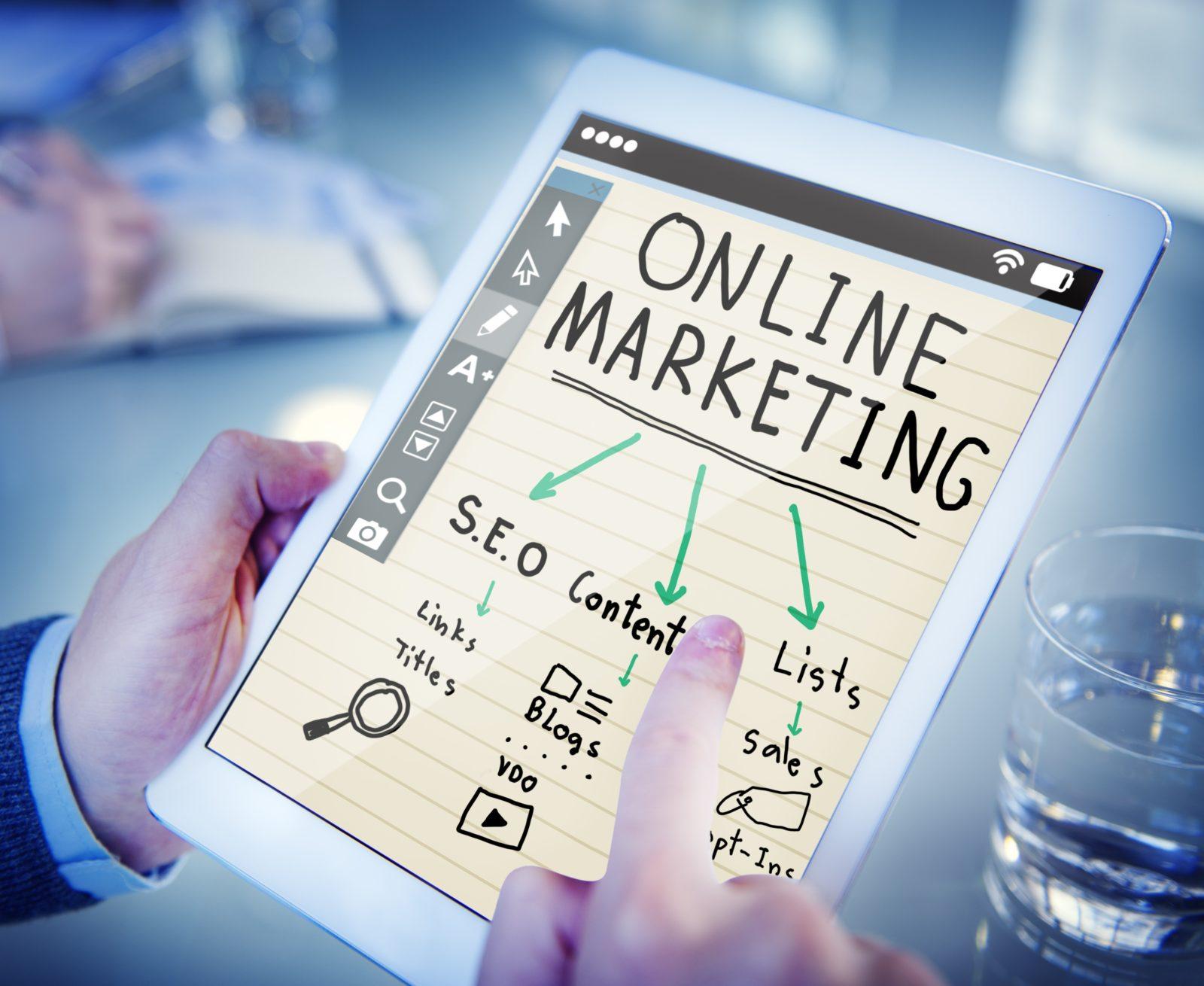 online marketing b2b sales plan
