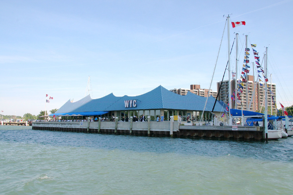 Windsor Yacht Club, Ontario, Canada