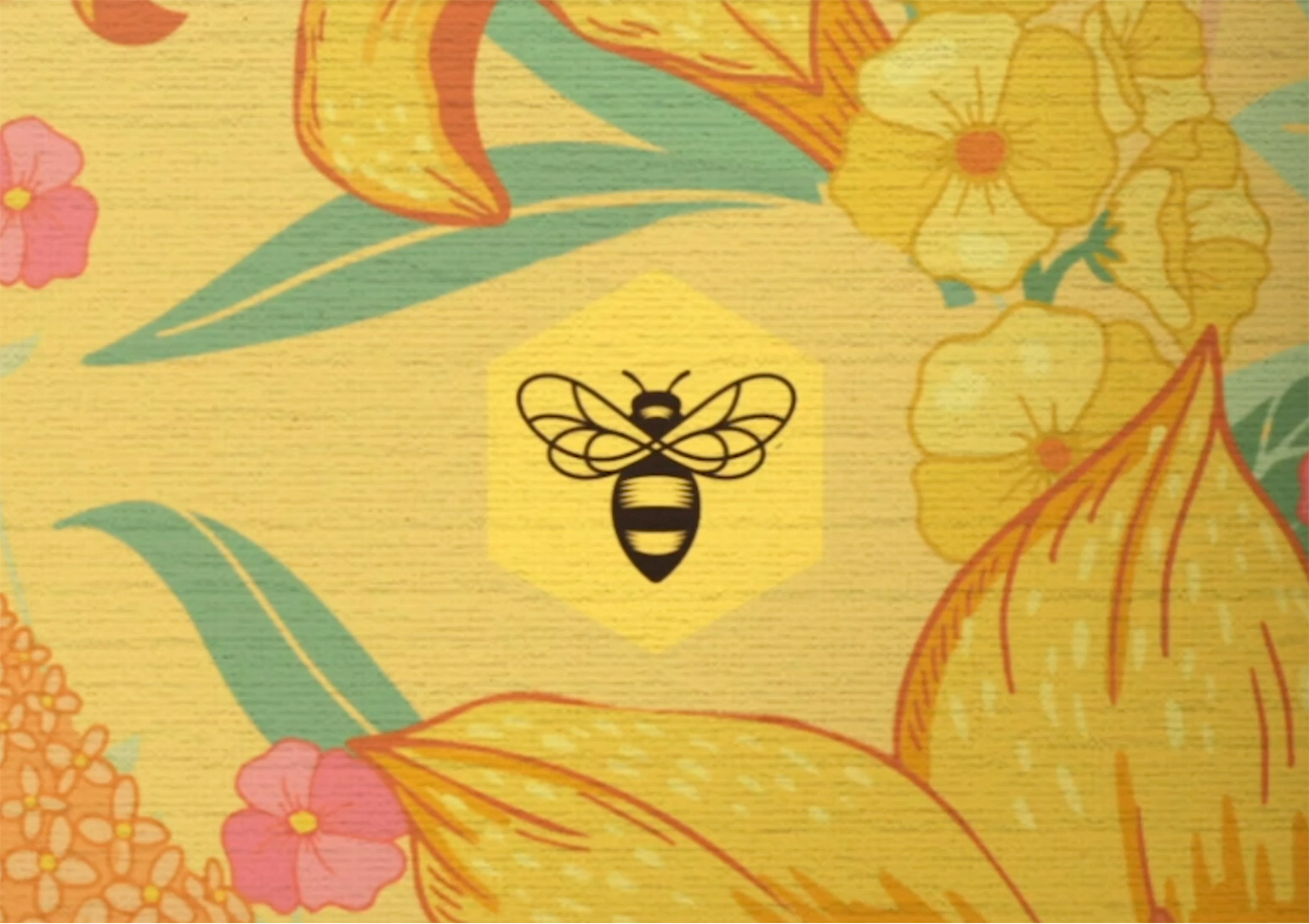 Burt's Bees Murals & Patterns
