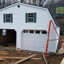 new two car garage amish nj