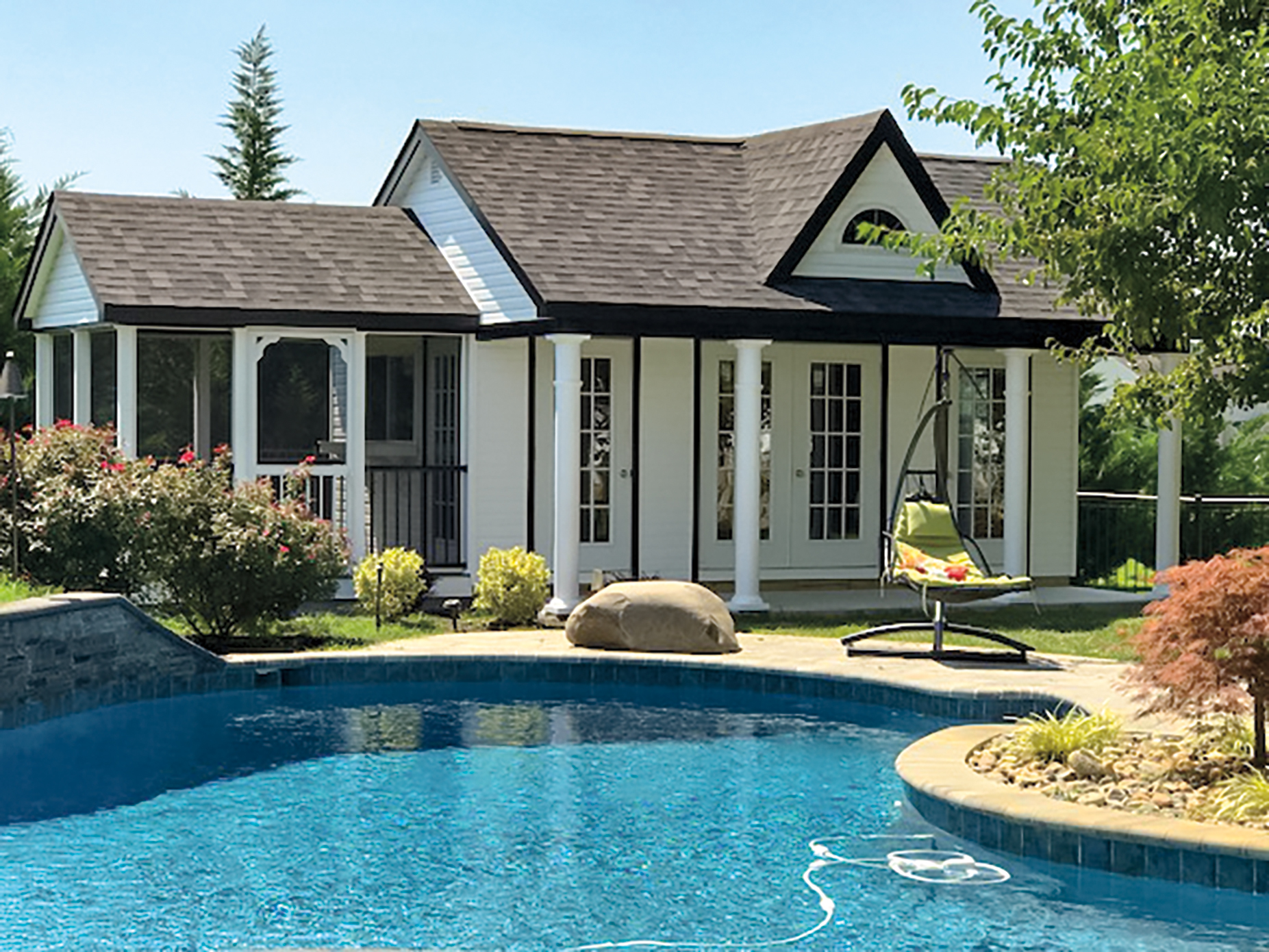10x20 Pool House