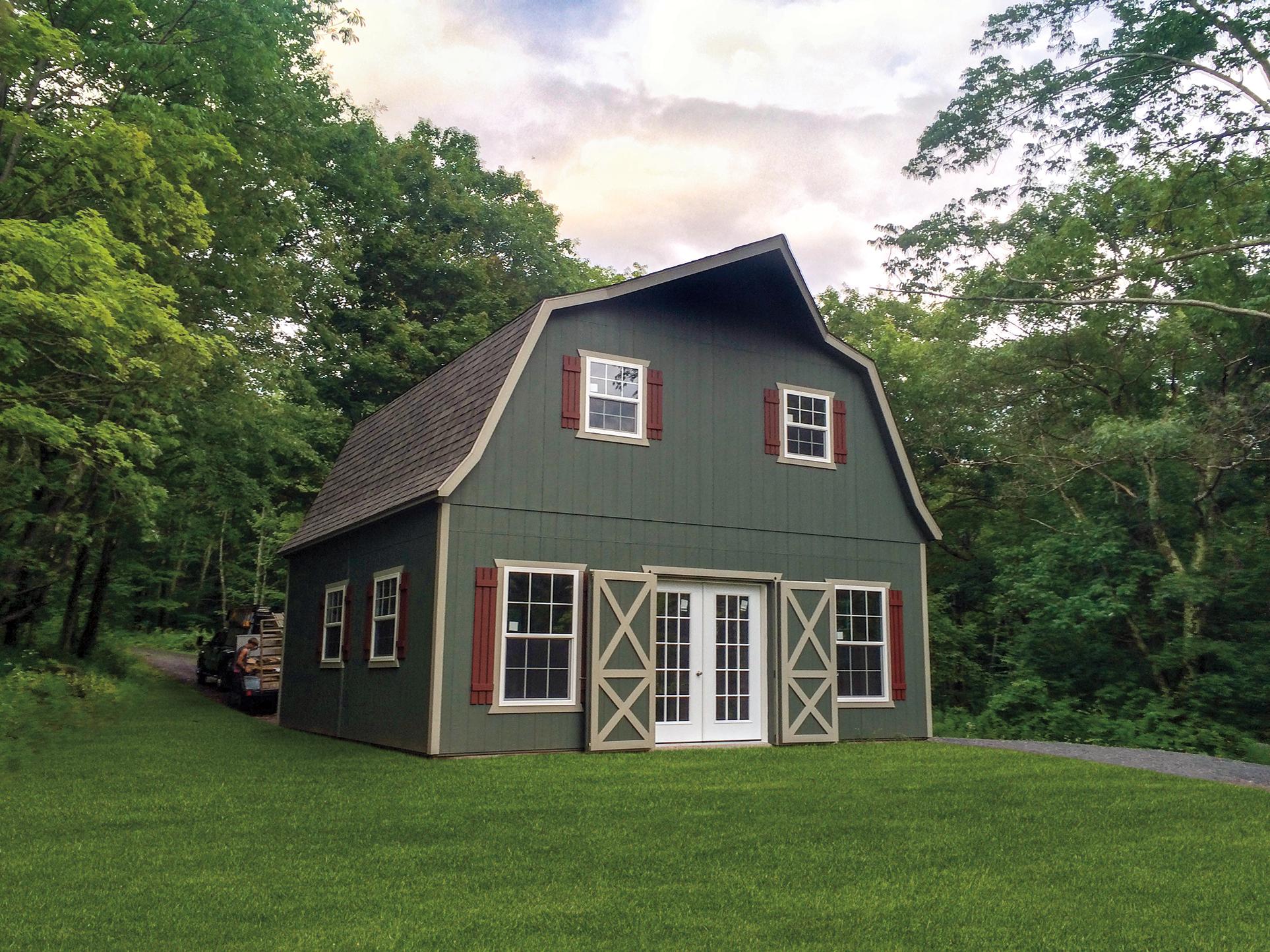 2 story barn
