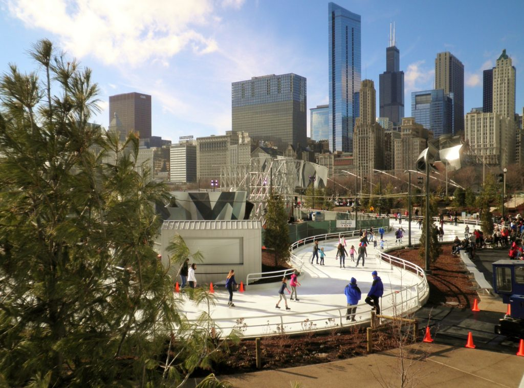 Maggie Daley Park Winter in Chicago