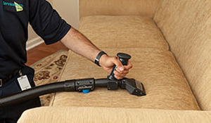 ServiceMaster furniture cleaning process