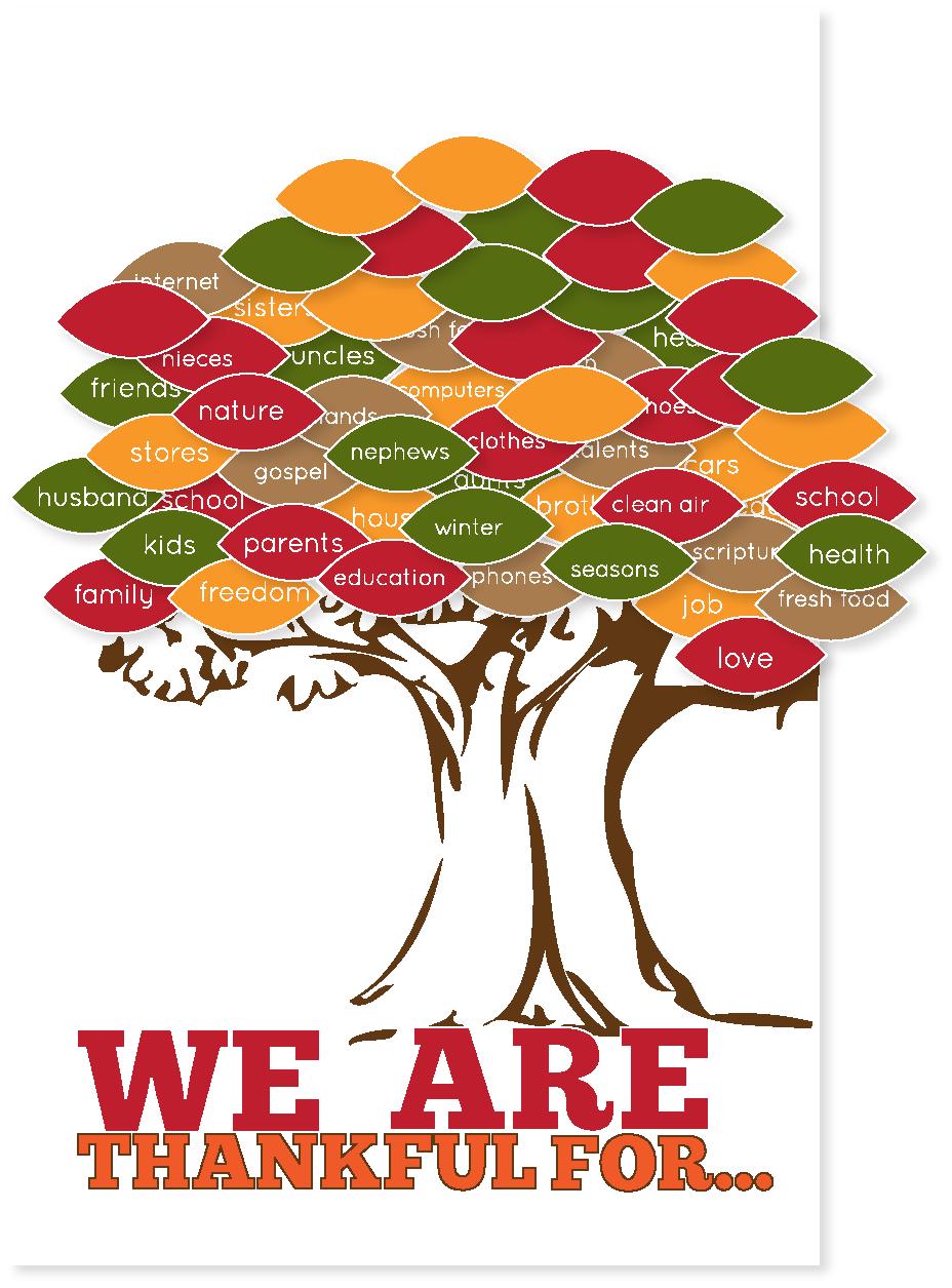 Free Thanksgiving Printable Tree at Kiki and Company
