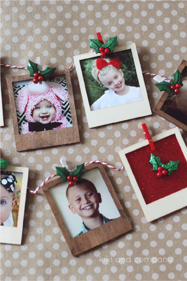 Love this gift for Christmas from #michaelschristmas. Love those little frames!