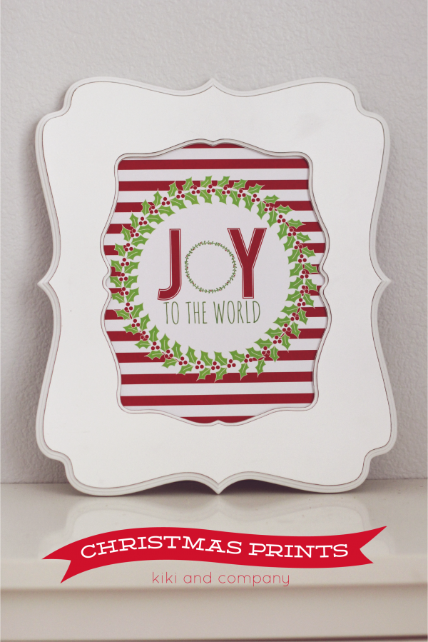 Free Christmas Prints from Kiki and Company.Love these!