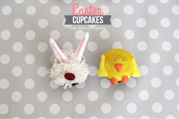 Cupcakes- Easter Bunny and Chicks 2