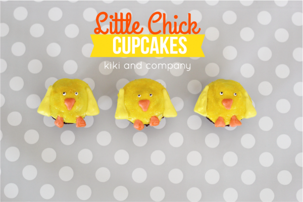 Cupcakes- Little Chicks