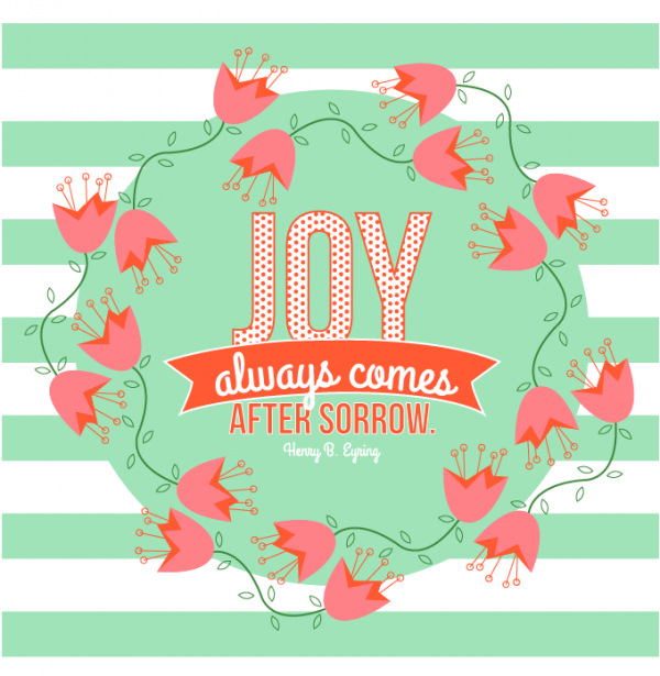 General Womens Meeting-Joy always comes after sorrow
