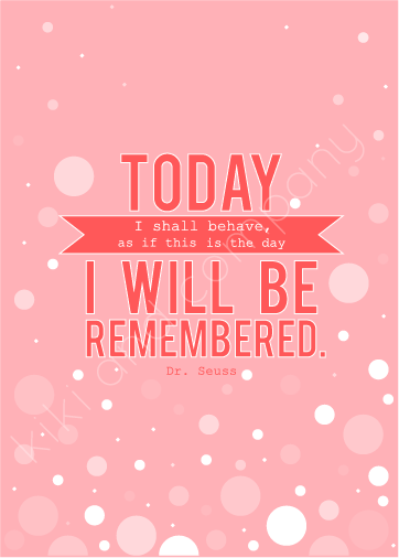 Today is the day Dr. Seuss printable at kiki and company