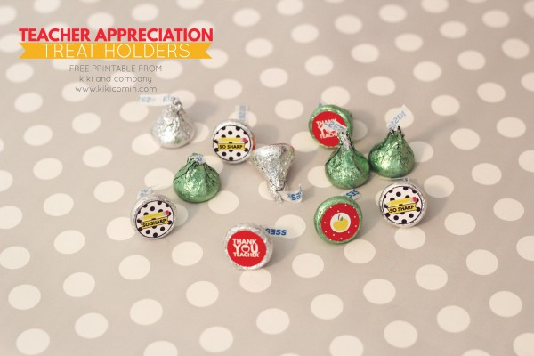 Teacher Appreciation Treat Holders from kiki and company. Love these.